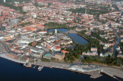 Areal Photo of Kiel